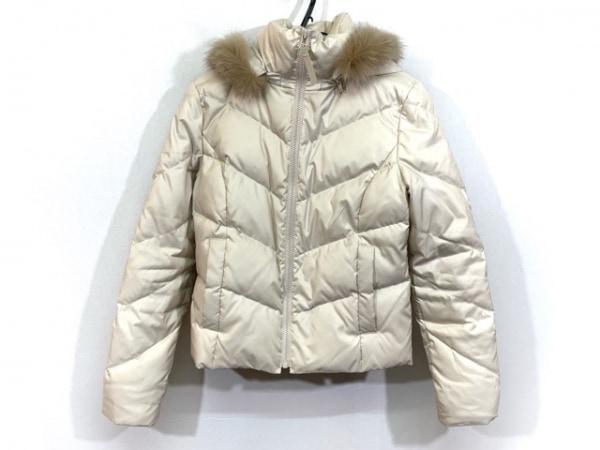 UNTITLED(アンタイトル) ダウンジャケット サイズ0 XS レディース ベージュ 冬物