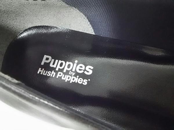 HUSH PUPPIES(ハッシュパピーズ) パンプス 24.5 レディース美品  黒 レザー