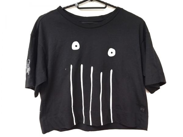 G-STAR RAW(ジースターロゥ) 半袖Tシャツ サイズS レディース美品  黒×白