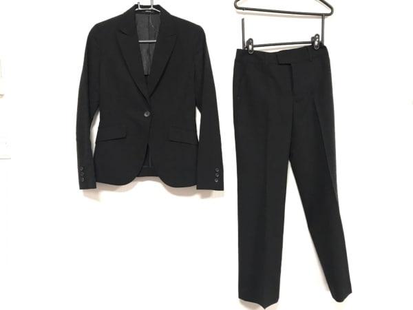 COMME CA ISM(コムサイズム) レディースパンツスーツ サイズM レディース 黒 肩パッド