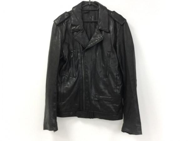 AMERICAN RAG CIE(アメリカンラグシー) ライダースジャケット サイズ2 M メンズ 黒