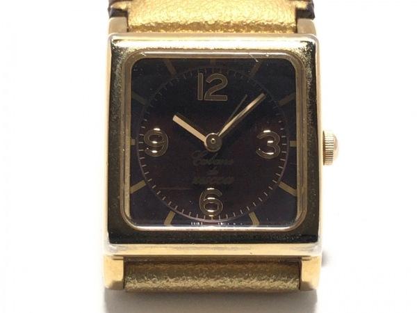 ZUCCA(ズッカ) 腕時計美品  1N01-0PM0 レディース CABANE de ZUCCA 黒