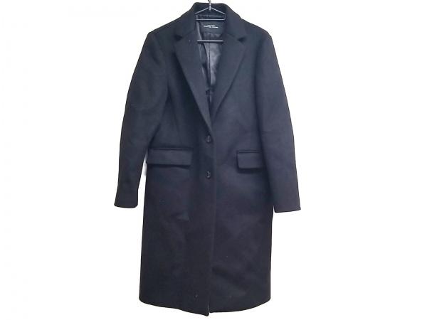 グリーンレーベルリラクシング コート サイズ38 M レディース美品  黒 冬物