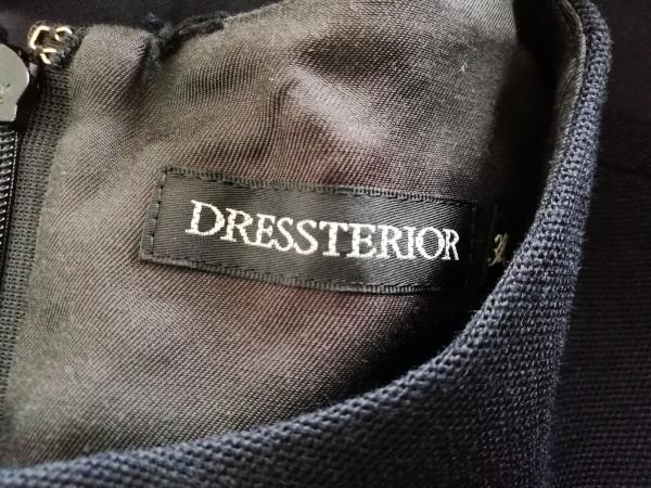 DRESSTERIOR(ドレステリア) ワンピース サイズ38 M レディース ネイビー
