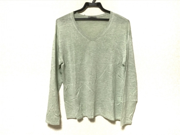 theory luxe(セオリーリュクス) 長袖セーター サイズ38 M レディース ライトグリーン