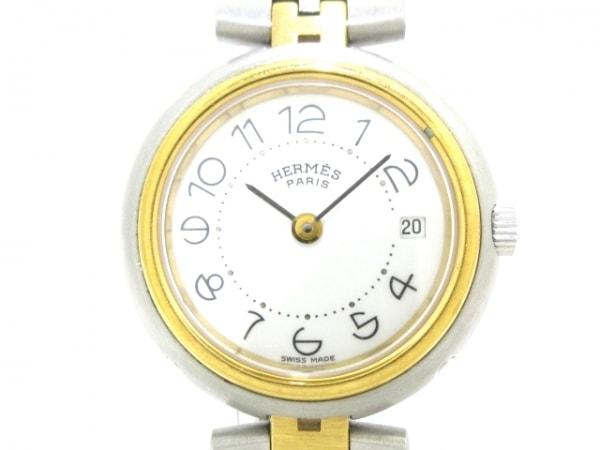 HERMES(エルメス) 腕時計美品  プロフィール - レディース 白