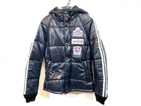 ヒステリックグラマー ダウンジャケット サイズF  F レディース 刺繍/冬物