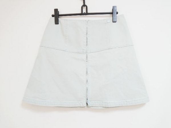 CHANEL(シャネル) スカート サイズ42 L レディース ライトグリーン