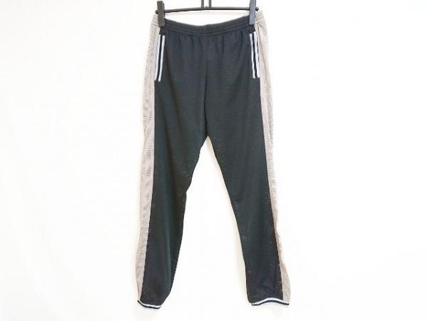 シャネル パンツ サイズ40 S メンズ スポーツライン 黒×ベージュ×ライトグレー