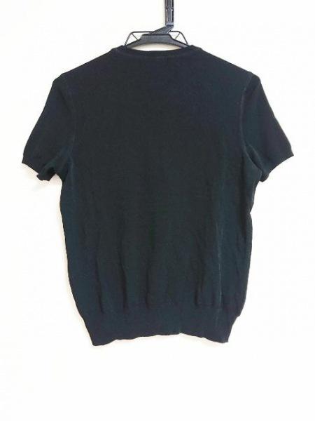 CHANEL(シャネル) 半袖カットソー サイズ44 L レディース 黒