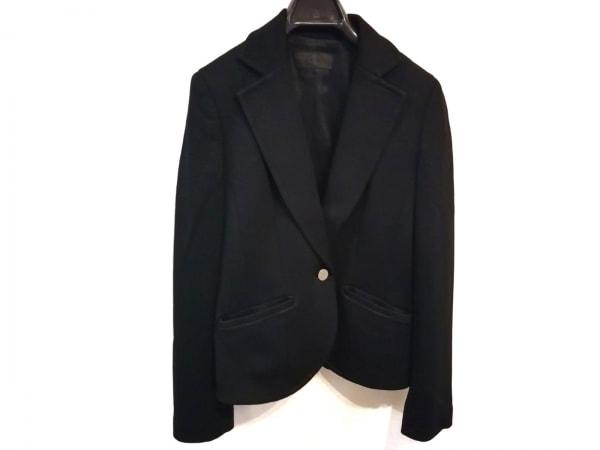 ICB(アイシービー) スカートスーツ サイズ9 M レディース美品  黒 肩パッド