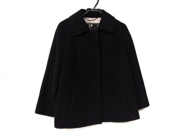 INED(イネド) コート サイズ13 L レディース美品  黒 冬物/ショート丈