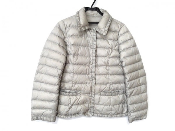 RULe(ルール) ダウンコート サイズLL レディース美品  ライトグレー 冬物