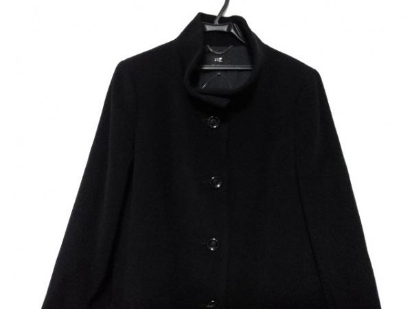 23区(ニジュウサンク) コート サイズ44 L レディース美品  黒