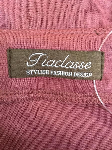 Tiaclasse(ティアクラッセ) ワンピース サイズM レディース ダークピンク