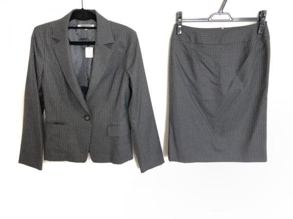 ナチュラルビューティー ベーシック スカートスーツ サイズL レディース美品