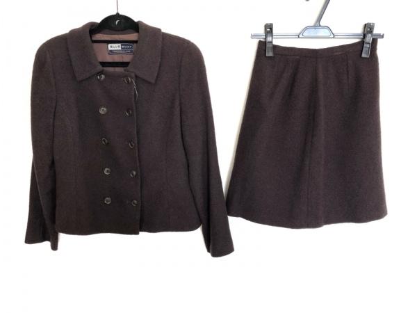 トゥモローランド スカートスーツ サイズ38 M レディース美品  ブラウン