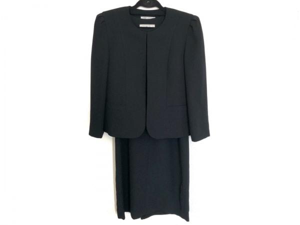 Tokyo Soir(トウキョウソワール) ワンピーススーツ サイズ9 M レディース美品  黒