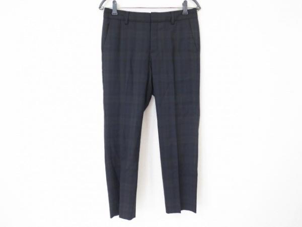 トゥモローランド パンツ サイズ38 M レディース 黒×ダークグリーン×ダークネイビー