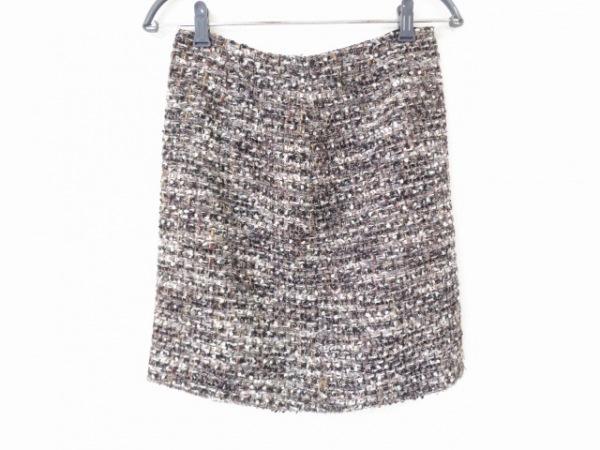 トゥモローランド ミニスカート サイズ38 M レディース美品  ツイード/ラメ