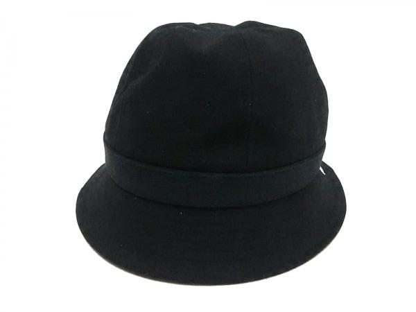一澤帆布(イチザワハンプ) ハット M 黒 キャンバス