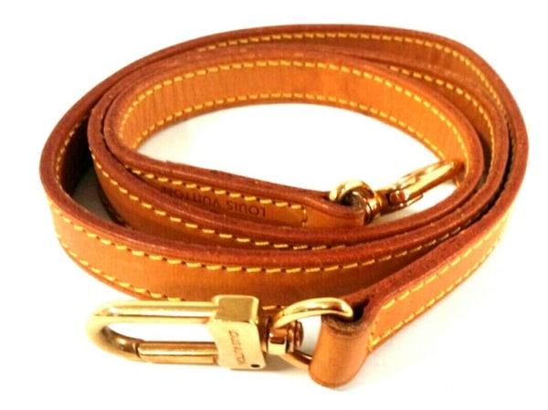 ルイヴィトン ショルダーストラップ ヌメ革 ショルダーストラップ100 J00142 ヌメ革