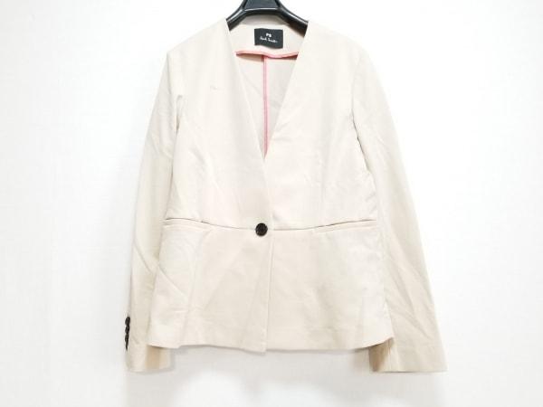 PaulSmith(ポールスミス) ジャケット サイズ40 L レディース美品  ベージュ 肩パッド