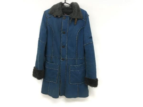 DIESEL(ディーゼル) コート サイズS メンズ ブルー 冬物