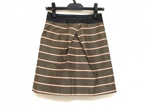 23区(ニジュウサンク) スカート サイズ32 XS レディース グレー