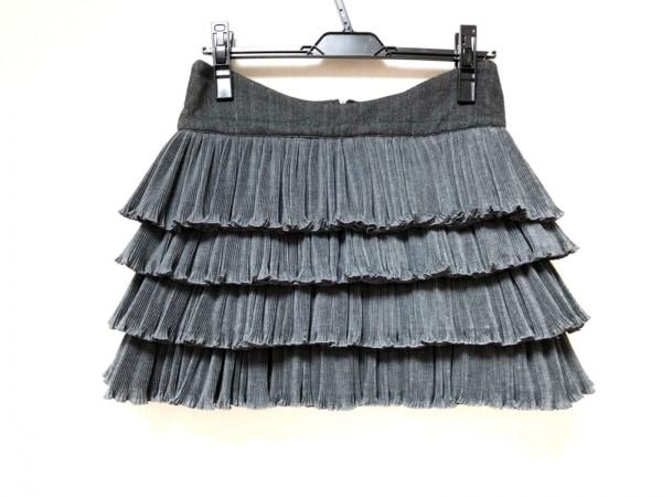 JUST cavalli(ジャストカヴァリ) スカート サイズ38 S レディース美品  グレー