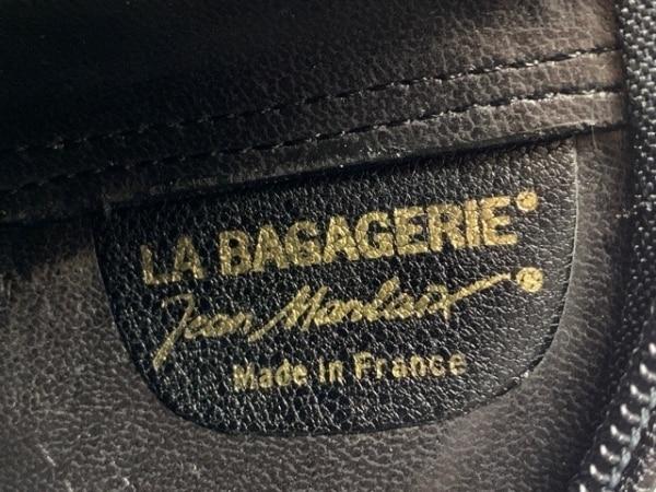 LA BAGAGERIE(ラバガジェリー) ショルダーバッグ 黒 レザー