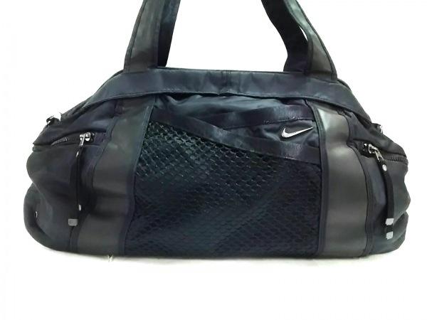 NIKE(ナイキ) ボストンバッグ美品  黒 ナイロン×ポリエステル