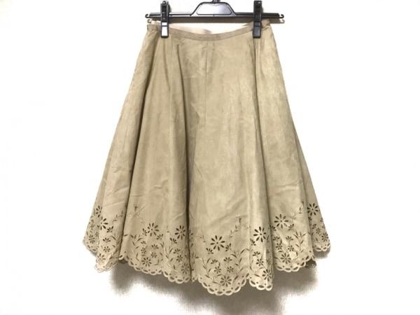FOXEY(フォクシー) スカート サイズ38 M レディース グレー