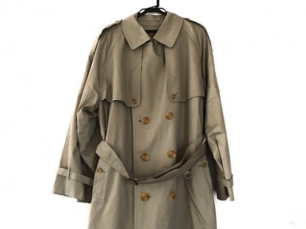 Burberry's(バーバリーズ) コート メンズ美品  カーキベージュ ネーム刺繍