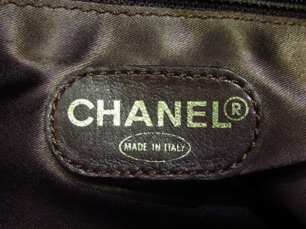 CHANEL(シャネル) ショルダーバッグ - ブラウン ココマーク/タッセル ラムスキン