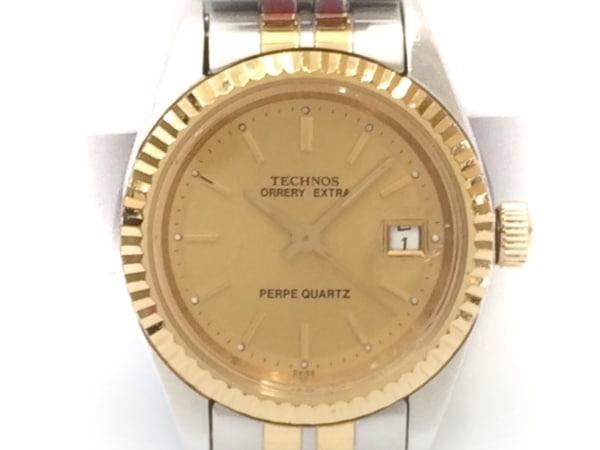 TECHNOS(テクノス) 腕時計 ORRERY EXTRA 211065.32 レディース ゴールド