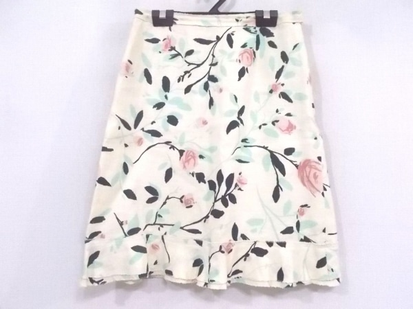 モスキーノ チープ&シック スカート サイズ42 M レディース美品  花柄