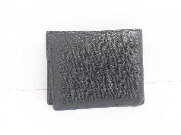 Burberry(バーバリー) 2つ折り財布 黒 レザー