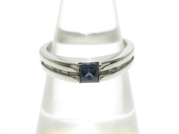 GemCEREY(ジェムケリー) リング美品  Pt900×天然アレキサンドライト×ダイヤモンド