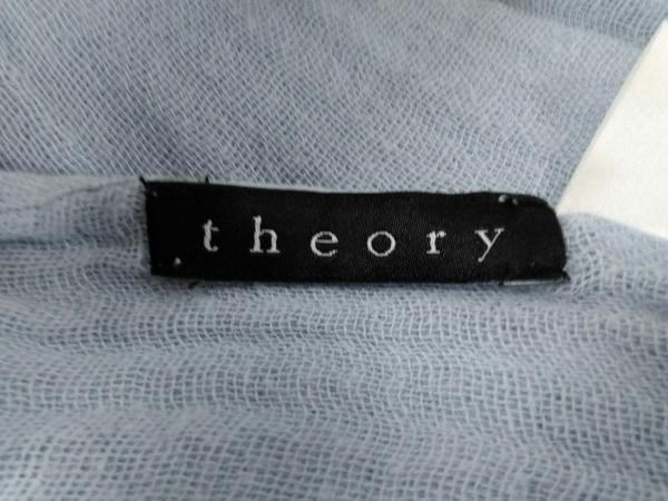 theory(セオリー) ストール(ショール) ライトパープル コットン