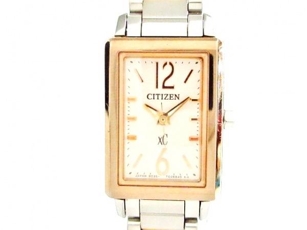 CITIZEN(シチズン) 腕時計 XC B035-T017649 レディース ライトベージュ