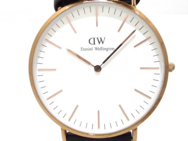 Daniel Wellington(ダニエルウェリントン) 腕時計 B4 メンズ 白