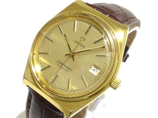 OMEGA(オメガ) 腕時計 シーマスター - メンズ ゴールド