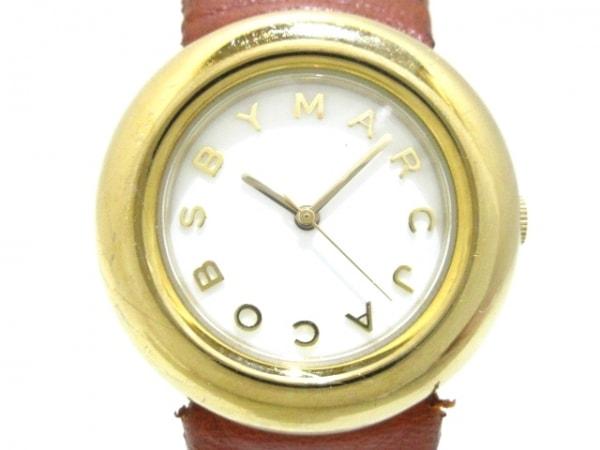 MARC BY MARC JACOBS(マークジェイコブス) 腕時計 マーシ MBM8520 レディース 白