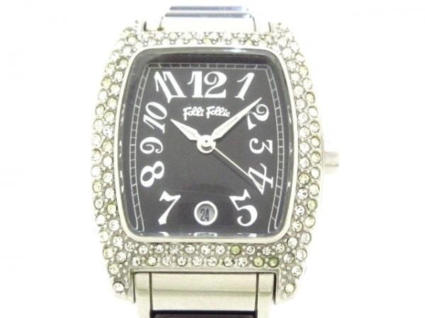 FolliFollie(フォリフォリ) 腕時計 WF5T135BD レディース 黒
