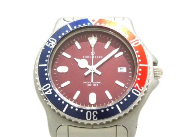 ELGIN(エルジン) 腕時計 プロフェッショナル M-055 メンズ レッド