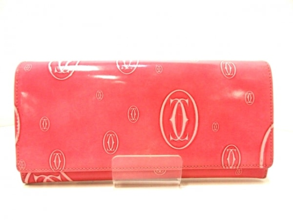 Cartier(カルティエ) 長財布 ハッピーバースデー L3000951 ピンク レザー