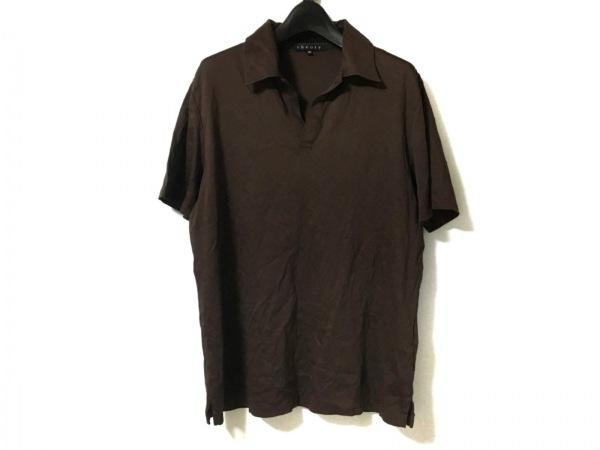 theory(セオリー) 半袖ポロシャツ サイズ40 M メンズ ダークブラウン