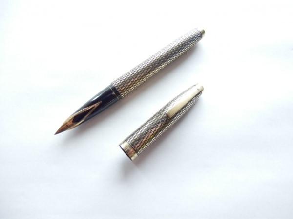 SHEAFFER(シェーファー) 万年筆美品  ゴールド インクなし/ペン先14K 金属素材