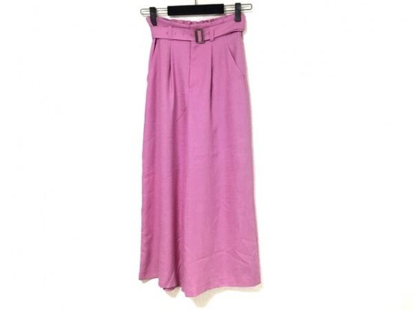 ダイアグラム パンツ サイズ36 S レディース美品  パープル